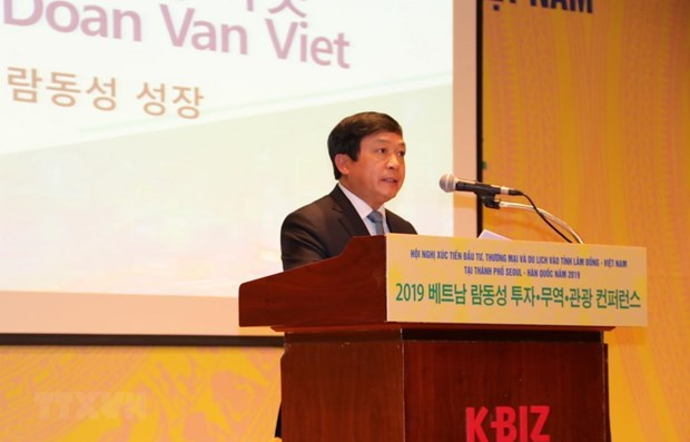 Lam Dong trade, investment, tourism opportunities introduced in RoK hinh anh 1