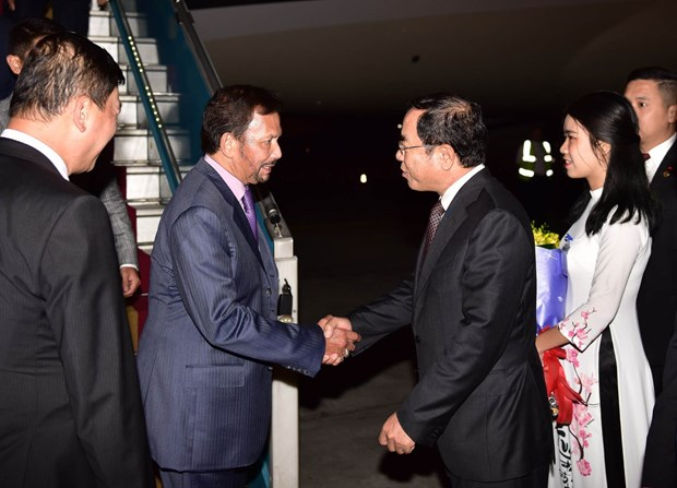 Sultan of Brunei begins state visit to Vietnam hinh anh 1