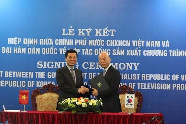 Vietnam, RoK to co-produce TV programmes hinh anh 1