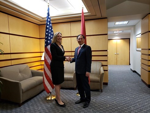 Vietnam, US hold 10th political, security, defence dialogue hinh anh 1