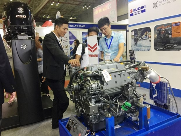 Over 200 businesses join Int'l Maritime Expo Vietnam 2019 hinh anh 1