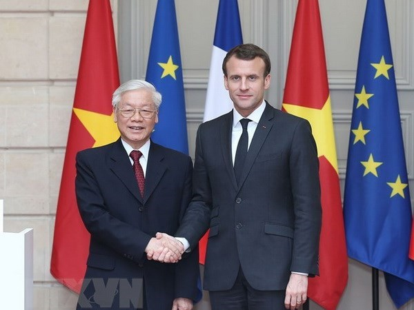 NA leader's visit hoped to accelerate partnership with France hinh anh 1
