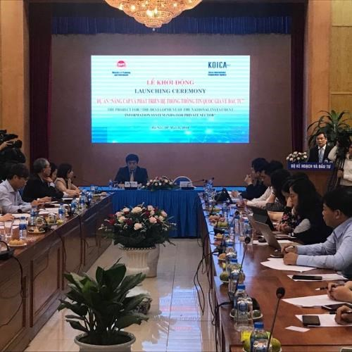 Project to develop national investment information system kicks off hinh anh 1