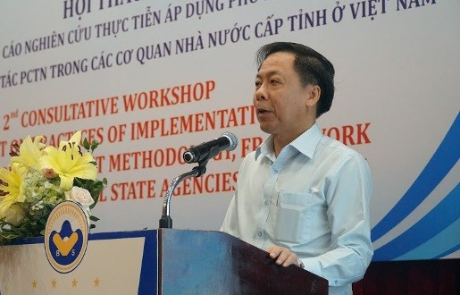 Experts discuss Provincial Anti-Corruption Assessment index hinh anh 1