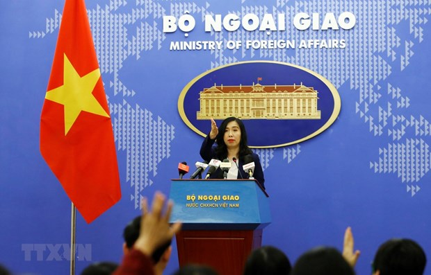 China's recent activities in Hoang Sa violate Vietnam's sovereignty: spokeswoman hinh anh 1