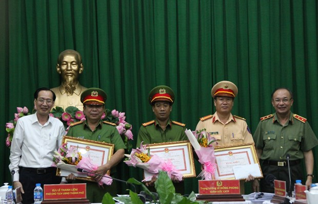 HCM City police uncover trafficking of 315 kg of heroin hinh anh 1