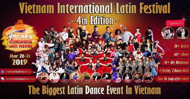 Hanoi hosts Latin dance festival hinh anh 1