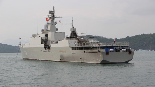 Vietnam's HQ 012-Ly Thai To joins fleet review at LIMA 2019 hinh anh 1