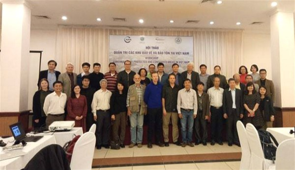 Workshop discusses protected area governance in Vietnam hinh anh 1