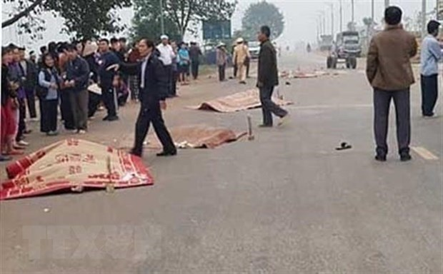 Coach driver prosecuted for deadly crash in Vinh Phuc hinh anh 1