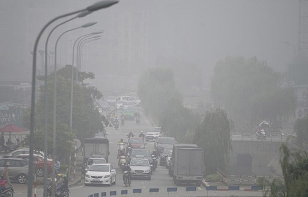 Hanoi residents worry about air pollution hinh anh 1