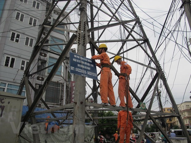 Over 7.3 trillion VND for power grid in central, Central Highlands regions hinh anh 1