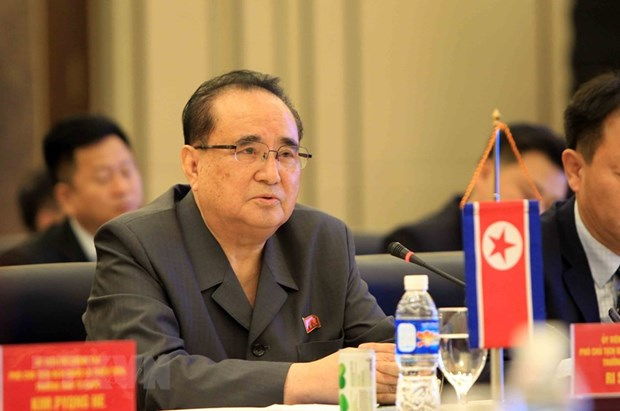 DPRK, Laos step up cooperation hinh anh 1
