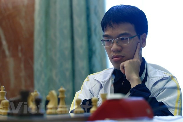 Vietnamese chess players fail to win title at Sharjah championship hinh anh 1