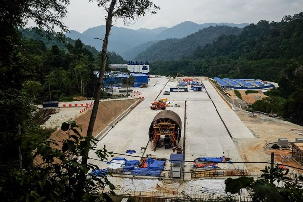 Malaysia, China about to finalise railway project talks hinh anh 1