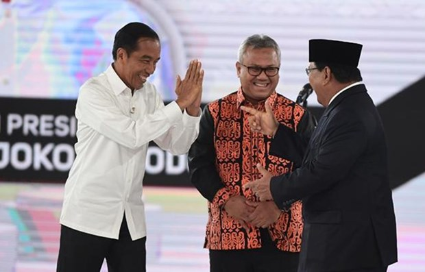 Indonesia: Presidential candidates hold different approaches on int'l relations hinh anh 1