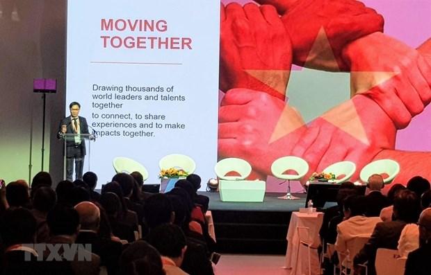 Vietnam Global Leaders Forum held in Paris hinh anh 1