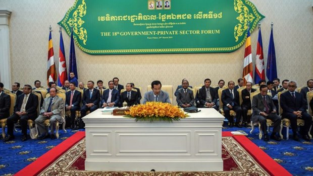 Cambodia announces 17-point strategy to promote economic growth hinh anh 1