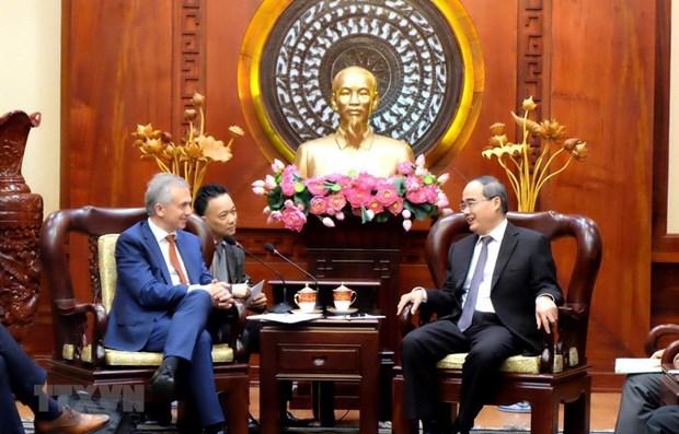 Ho Chi Minh City, Frankfurt boost cooperative ties hinh anh 1