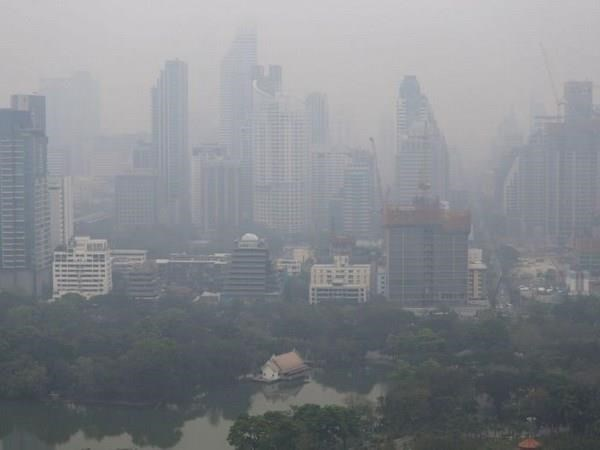 Air pollution worries people in northern Thailand hinh anh 1