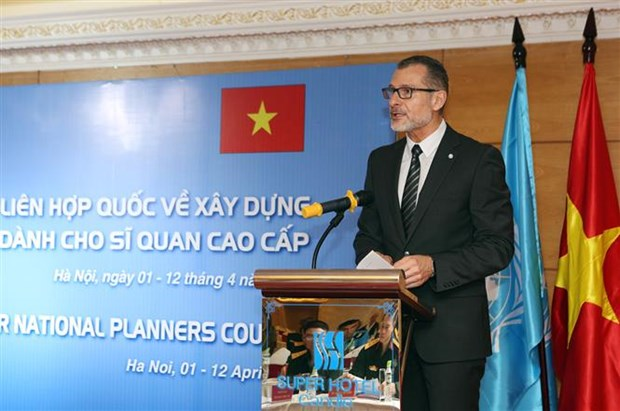 UN Senior National Planners Course kicks off in Hanoi hinh anh 1