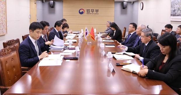 Vietnam, RoK bolster judicial, legislative cooperation hinh anh 1