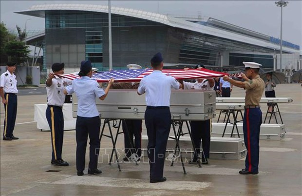 Remains of missing-in-action US servicemen repatriated hinh anh 1