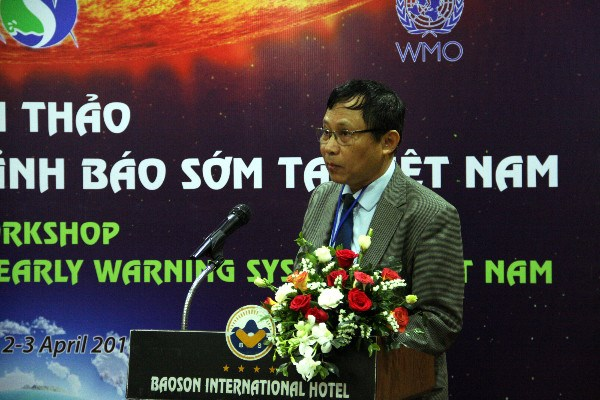 Workshop discusses early disaster warning system in Vietnam hinh anh 1