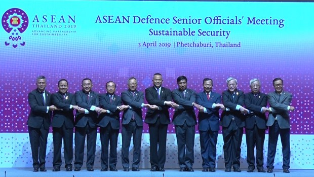 Vietnam attends ASEAN defence senior officials' meeting hinh anh 1