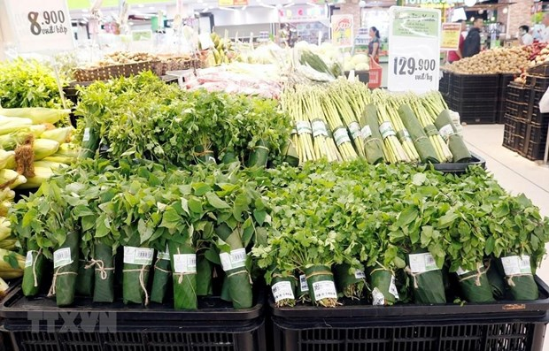 PM hails supermarkets using eco-friendly alternatives to plastic bags hinh anh 1