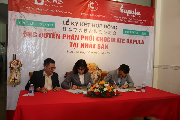 Vietnam exports organic Bapula chocolate to Japan hinh anh 1
