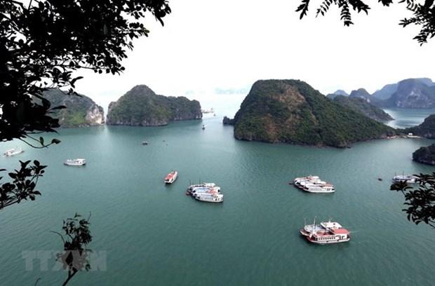 US newspaper names Ha Long Bay among world's 35 most beautiful natural wonders hinh anh 1