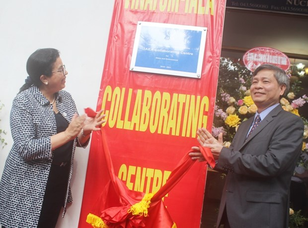IAEA-VINATOM Collaborating Centre inaugurated in Hanoi hinh anh 1