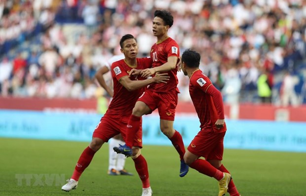 National men's football team ranks 98th in FIFA rankings hinh anh 1