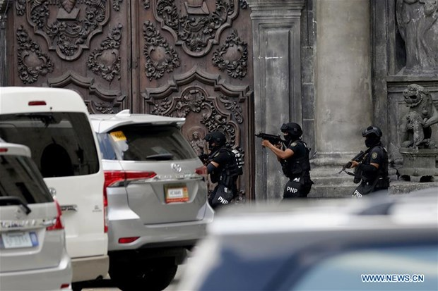 Philippines tightens security after southern bombing hinh anh 1