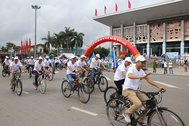 Quang Tri ceremony marks Int'l Mine Awareness Day hinh anh 1