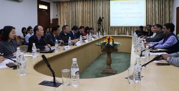 Scholars talk Vietnam-India relations at New Delhi dialogue hinh anh 1