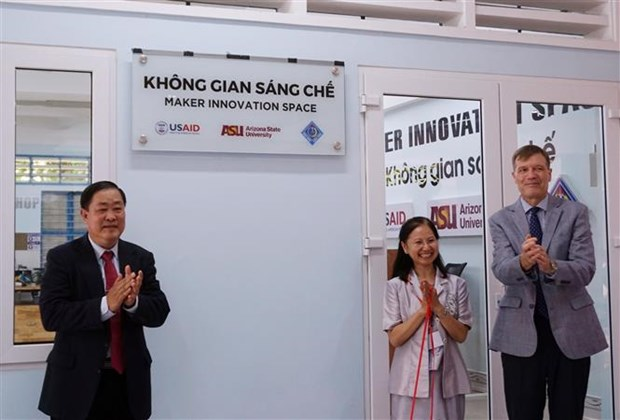 Innovation space for students inaugurated in Mekong Delta city hinh anh 1