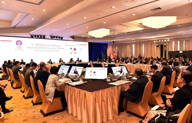 ASEAN finance ministers, central bank governors meet in Thailand hinh anh 1