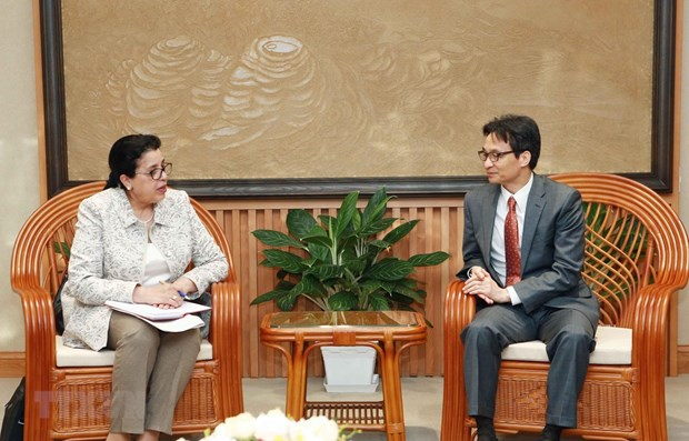 Deputy PM receives IAEA Deputy Director General hinh anh 1