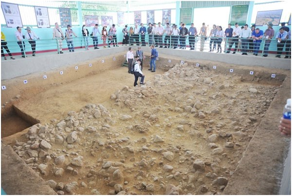 Evidence of early humans unearthed in Central Highlands province hinh anh 1