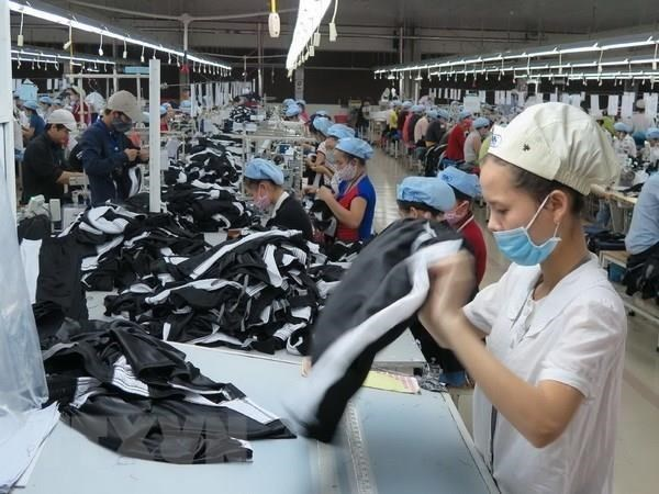Garment, textile export fetches nearly 8.7 billion USD in Q1 hinh anh 1
