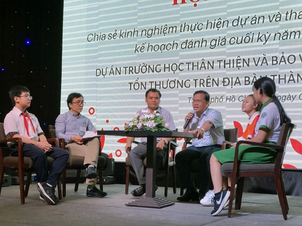 Project hopes to enhance child protection in HCM City hinh anh 1