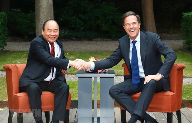Vietnam visit by Dutch leader pushes up bilateral ties hinh anh 1