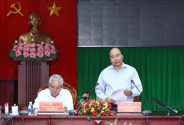 PM orders strong economic restructuring in Soc Trang hinh anh 1