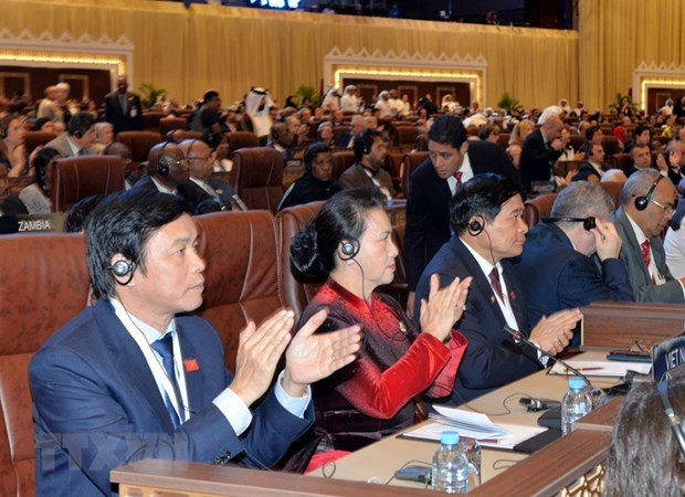 Vietnam attends opening ceremony of IPU-140 hinh anh 1
