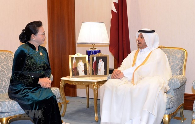 Vietnam treasures ties with Qatar: NA Chairwoman hinh anh 1