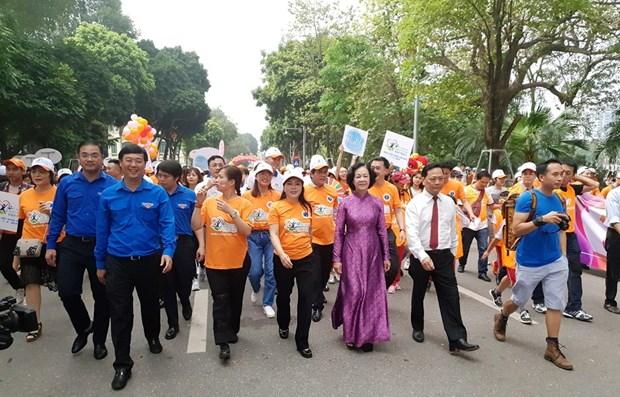 Vietnam celebrates World Health Day 2019 hinh anh 1