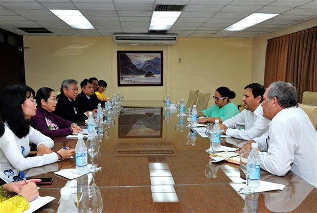 HCM City looks for cooperation opportunities in Cuba hinh anh 1