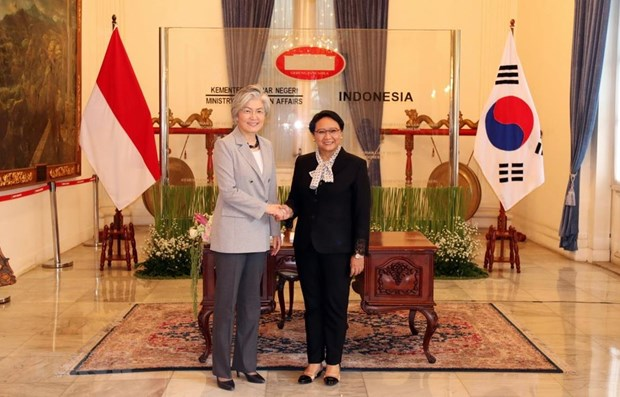 Indonesia, RoK agree to intensify bilateral ties hinh anh 1